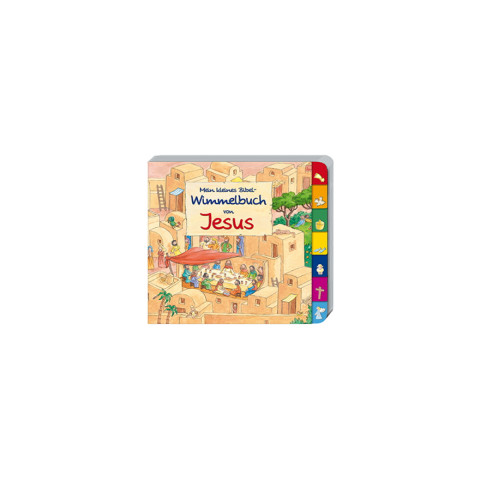 Mein kleines Bibel-Wimmelbuch von Jesus (1 Stück)