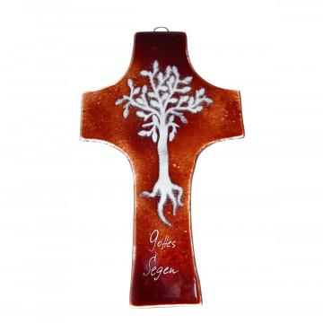 Glaskreuz »Lebensbaum«