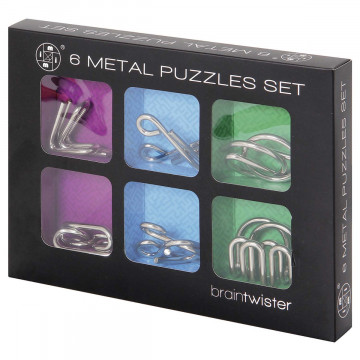 6er-Set Metall Puzzle