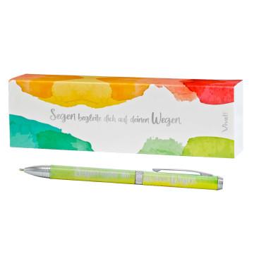 Kugelschreiber »Segen begleite dich auf deinen Wegen«