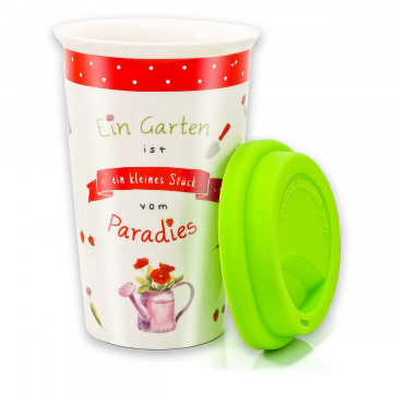 Coffee to go-Becher »Gartenparadies«