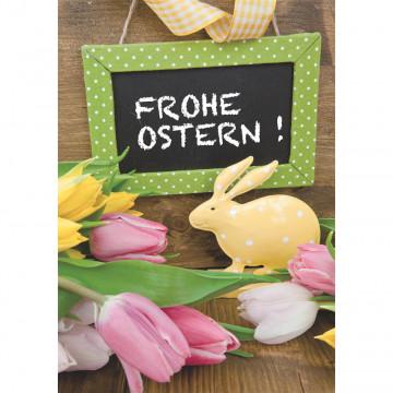 Doppelkarte Frohe Ostern! (6 Stück)