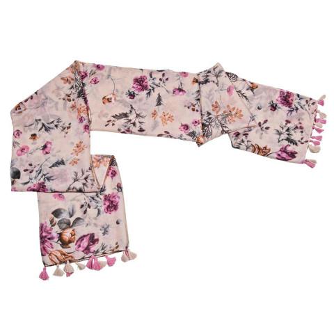 Schal »Nostalgischer Blumengarten«
