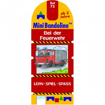 Mini Bandolino Set 72. Bei der Feuerwehr