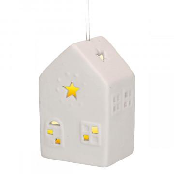 LED-Licht »Haus aus Porzellan«