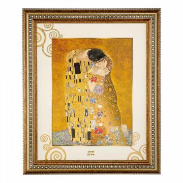 Wandbild »Gustav Klimt - Der Kuss«