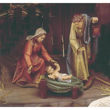 Krippen-Figurengruppe »Heilige Familie«