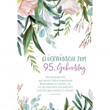 Glückwunschkarte Glückwünsche zum 65. Geburtstag (3 Stück)