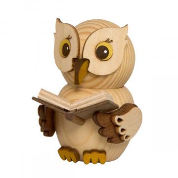 Figur »Eule mit Buch«