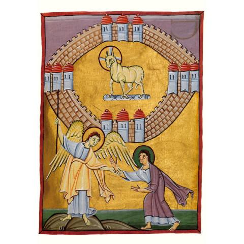 Magnificat-Karte Das Himmlische Jerusalem