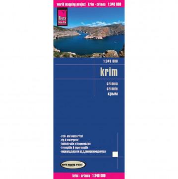 Reise Know-How Landkarte Krim (1:340.000)