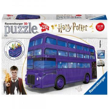 Harry Potter Bus. 3D Puzzle 216 Teile
