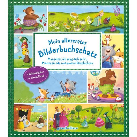 Mein allererster Bilderbuchschatz: Mausebär, ich mag dich sehr!, 10 kleine Schafe und andere Geschic