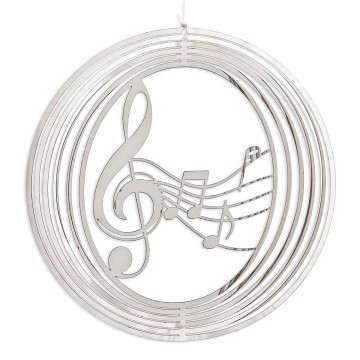 Windspiel »Notenschlüssel«