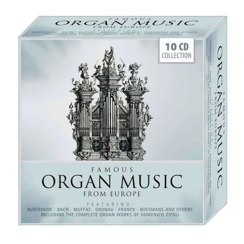 10 CDs »Famous Organ Music from Europe«