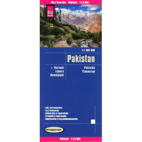 Reise Know-How Landkarte Pakistan (1:1.300.000)