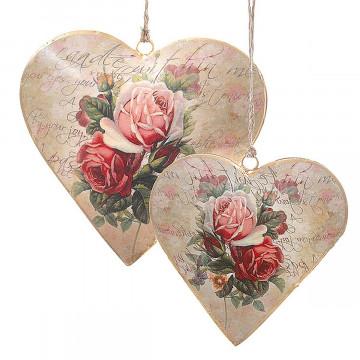 4er-Set Anhänger »Herz«