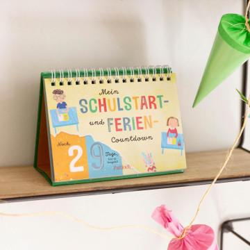 Kalender »Mein Schulstart- und Ferien-Countdown«