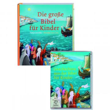 Die große Bibel für Kinder + Geschichten aus der Bibel für Kinder