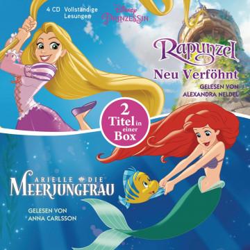 Disney Prinzessin: Arielle, die Meerjungfrau und Rapunzel - Neu verföhnt