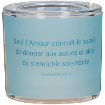 """LichtMoment """"Seul l'Amour ..."""" (1 Stück)"""