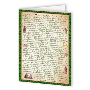 Große Grußkarte »Lukas-Evangelium«