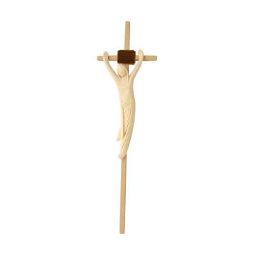 Holzkreuz mit Korpus