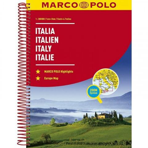 MARCO POLO Reiseatlas Italien 1:300 000