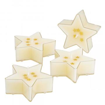 8er-Teelicht-Set »Stern«