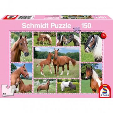 Pferdeträume, 150 Teile - Kinderpuzzle