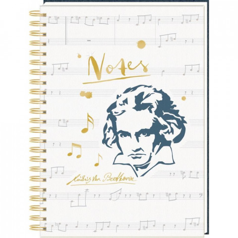 Ringbuch DIN A4 - All about music - Edition Beethoven