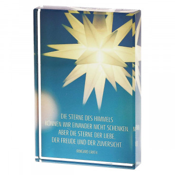 Glasquader »Die Sterne des Himmels«