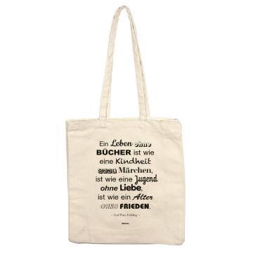 Tasche »Ein Leben ohne Bücher«