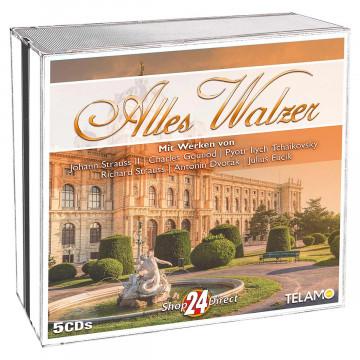 5 CDs »Alles Walzer«