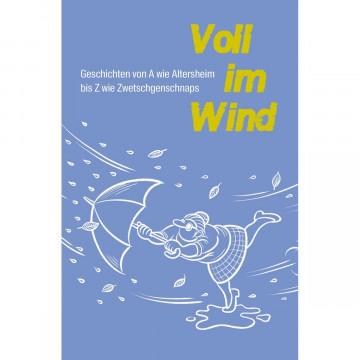 Voll im Wind.