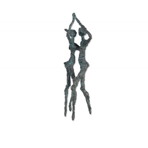 Bronzeskulptur Das Spiel der Gegensätze (1 Stück)