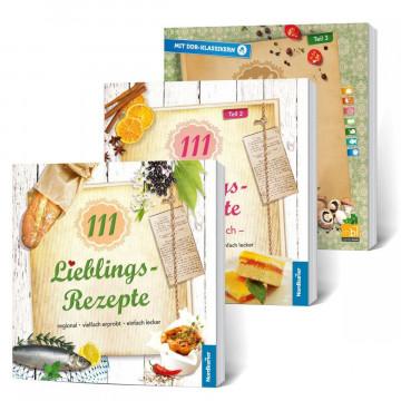 Buchset Lieblings-Rezepte. 3 Bände