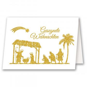 Weihnachtskarte »Gesegnete Weihnachten«