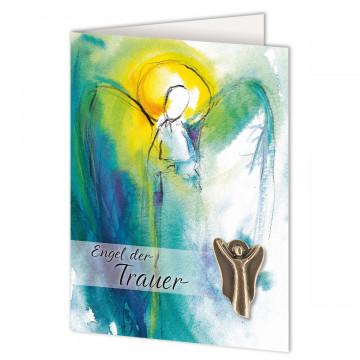 Trauerkarte »Engel der Trauer«