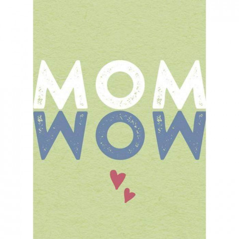 Magnet MOM - WOW