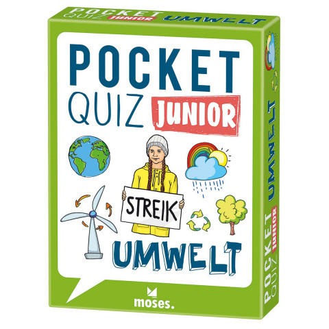 Pocket Quiz junior: Umwelt