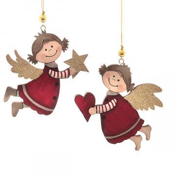 2er-Set Anhänger »Weihnachtsengel«