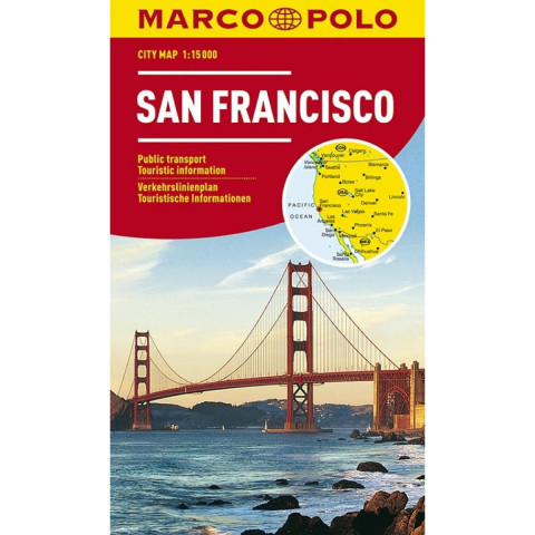 MARCO POLO Cityplan San Francisco 1 : 15.000