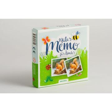 Natur-Memo-Spiel für Kinder