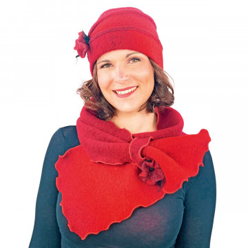 Mütze »Duo Rot«
