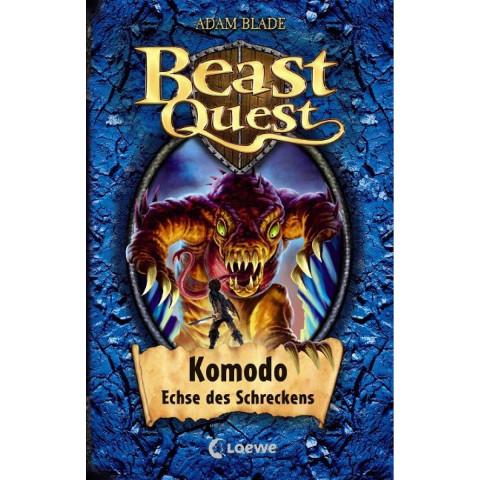 Beast Quest 31. Komodo, Echse des Schreckens