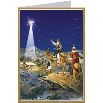 "Postkarten-Adventskalender ""Drei Könige"""