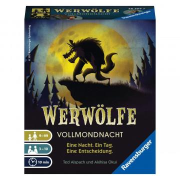 Ravensburger 26703 - Werwölfe - Vollmondnacht, Gesellschaftsspiel ab 9 Jahren, Actionsspiel für 3-10