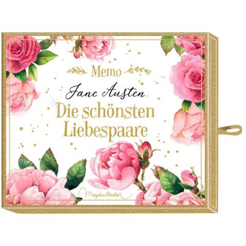 Schachtelspiel - Memo - Jane Austen - Die schönsten Liebespaare