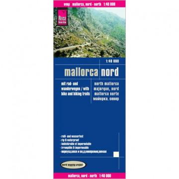 Mallorca Nord Wanderkarte. 1 : 40 000